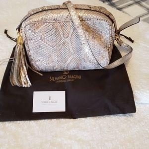 Silvano Biagini Genuine Reptile Skin Bag